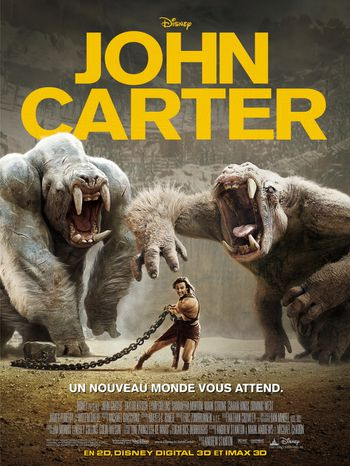 John Carter film streaming